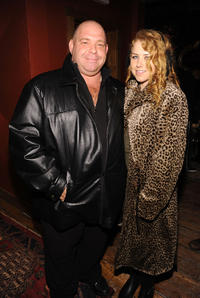 Louis Lombardi and Alicia Beed at the Soft opening of