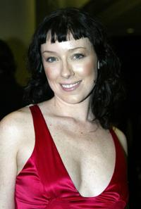Molly Parker at the 24th Annual Genie Awards.