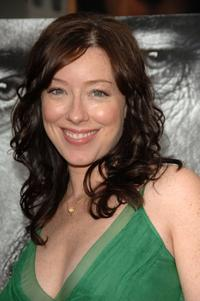 Molly Parker at the premiere of