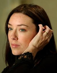 Molly Parker at the news conference for her new film