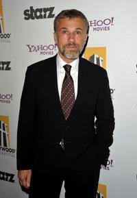 Christoph Waltz at the 13th Annual Hollywood Awards Gala ceremony.
