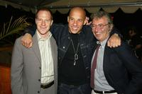 Toby Emmerich, Vin Diesel and Bob Shaye at the after party of the premiere of