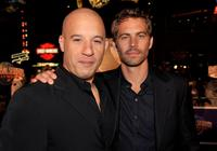Vin Diesel and Paul Walker at the premiere of