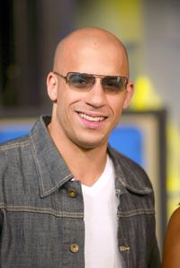 Vin Diesel at the MTV's Total Request Live.