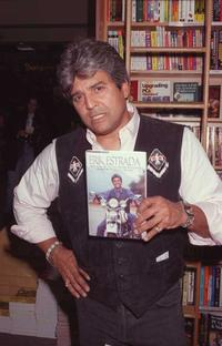 Erik Estrada at the signing of his Auto Biography.