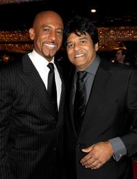 Montel Williams and Erik Estrada at the 37th Annual Daytime Entertainment Emmy Awards.