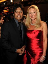 Erik Estrada and Laura McKenzie at the 37th Annual Daytime Entertainment Emmy Awards.