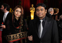 A.R. Rahman and Guest at the 81st Annual Academy Awards.