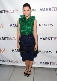 Jessica Biel at the launch of MARKTBeauty.com, an online beauty destination.