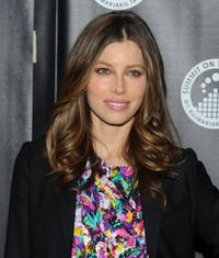 Jessica Biel at the premiere of