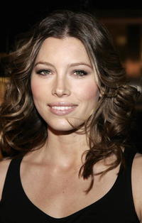 Jessica Biel at the  L.A. premiere of