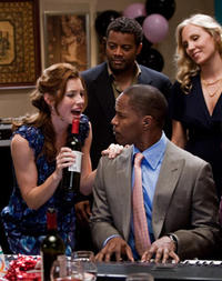 Jessica Biel and Jamie Foxx in
