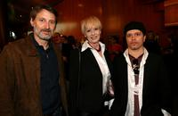 Antoine de Caunes, Penelope Spheeris and Director Olivier Dahan at the opening night reception during the 11th Annual City Of Lights, City Of Angels French Film Festival.