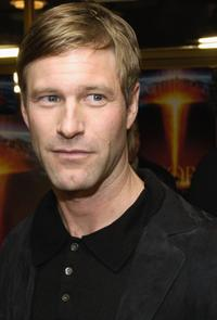 Aaron Eckhart at the premiere of