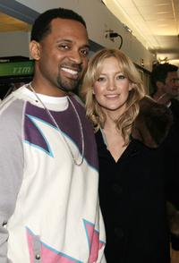 Mike Epps and Kate Hudson at the MTV's Sucker Free.