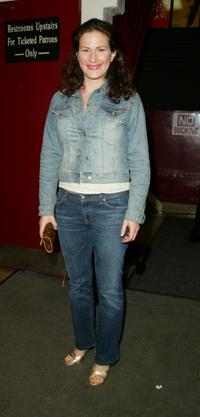 Ana Gasteyer at the 18th Annual Lucille Lortel Awards For Outstanding Achievement Off-Broadway.