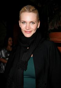 Natasha Henstridge at the BCBG fahion show after party during Mercedes-Benz Fashion Week Fall 2008.