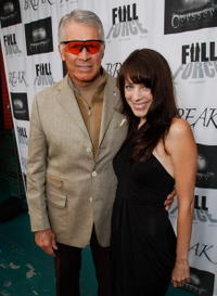 Chad Everett and Mackenzie Fergins at the premiere of