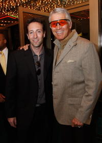 Director Marc Clebanoff and Chad Everett at the premiere of