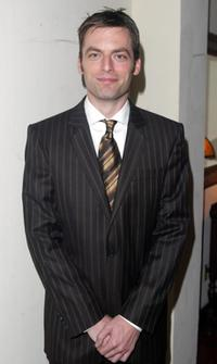 Justin Kirk at the HBO's Pre Golden Globes private reception.