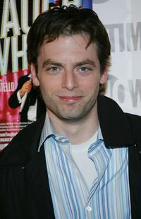 Justin Kirk at the opening night of