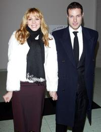 Mary McCormack and Michael Morris at the New York Stage And Film's 20th Anniversary Benefit Gala.