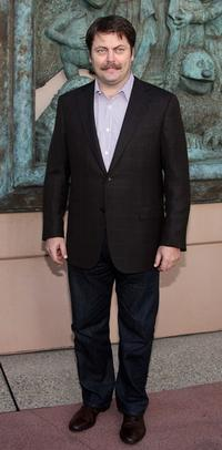 Nick Offerman at the screening of