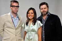 Bob Byington, Kristen Tucker and Nick Offerman at the 11th Annual CineVegas Film Festival.
