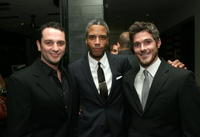 Matthew Rhys, Darryl Brantley and Dave Annable at the DKNY Men VIP Dinner and After Party for the 2008 GQ Luxe Lounge.
