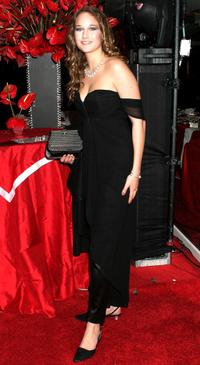 Leelee Sobieski at the NBC's Access Hollywood Golden Globe Party.