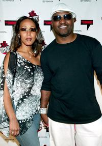 Frankee Rivera and Aries Spears at the Comedy Central's First Ever Awards Show