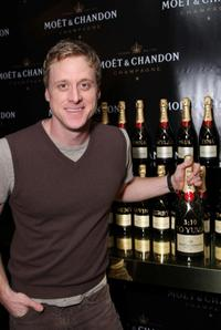 Alan Tudyk at the Luxury Lounge in honor of the 2008 SAG Awards.