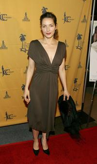 Mili Avital at the premiere of