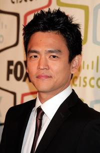 John Cho at the FOX Fall Eco-Casino party.