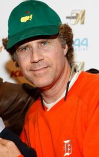 Will Ferrell at the Studio 54's 10th Anniversary Party.