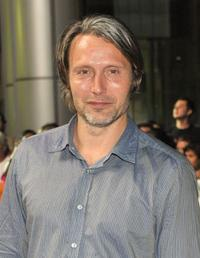 Mads Mikkelsen at the screening of