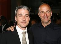 Matt Tolmach and Neal H. Moritz at the premiere of