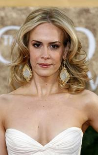 Sarah Paulson at the 64th Annual Golden Globe Awards.
