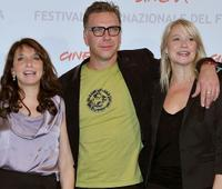Susanne Bier, Mikael Persbrandt and Trine Dyrholm at the photocall of