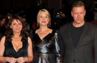 Susanne Bier, Trine Dyrholm and Mikael Persbrandt at the premiere of