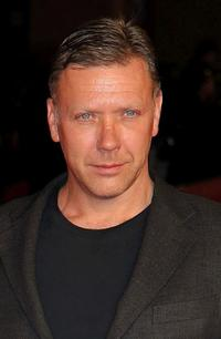 Mikael Persbrandt at the premiere of