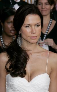 Rhona Mitra at the 12th Annual Screen Actors Guild Awards.