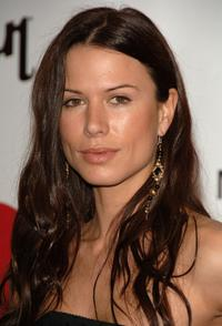 Rhona Mitra at the 2006 MusiCares Person of the Year honoring James Taylor.