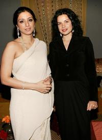 Tabu and Zuleikha Robinson at the after party of the premiere of
