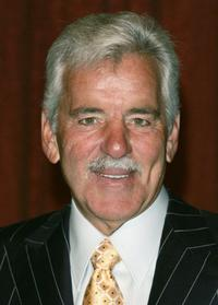 Dennis Farina at the new york friars club roasts jerry lewis at luncheon.