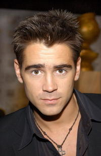 Colin Farrell at the Golden Globe Awards Nominations.