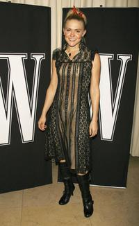 Dominique Swain at the W Magazines Hollywood Affair to celebrate the 2007 Golden Globes.