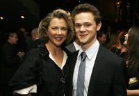 Annette Bening and Joseph Cross at the after party of the premiere of