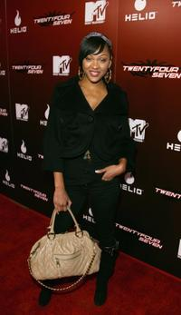 Meagan Good at the kick off party of MTVs
