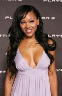 Meagan Good at the Launch Party of Sony Computer Entertainment America Playstation 3.